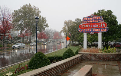 Chicken and Christmas in Frankenmuth, Michigan