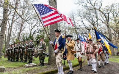 Patriots Grave Marking Service