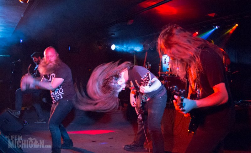 The Absence – Unleashing the maelstrom at the Token Lounge