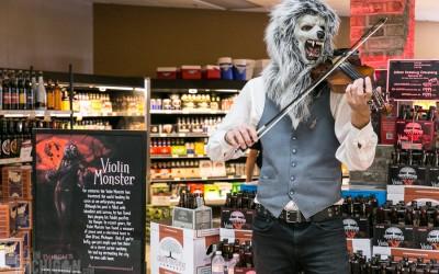 Violin Monster Invades Busch's Market