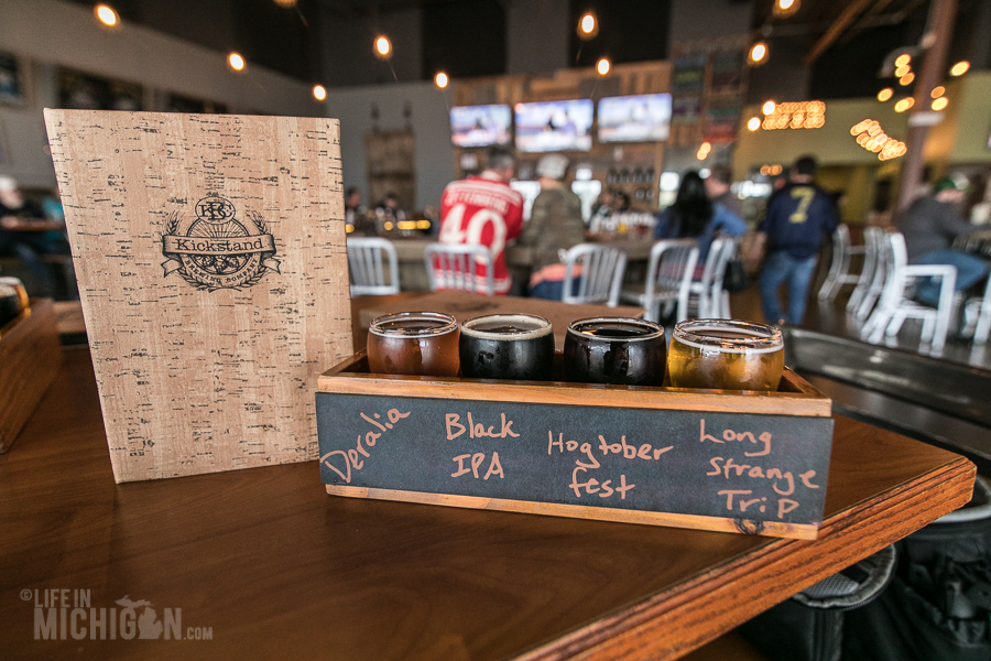 Kickstand Brewing Company in Commerce Township