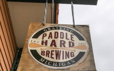 Paddle Hard Brewing in Grayling