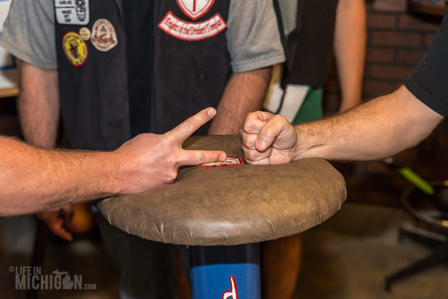 Rock Paper Scissors Tournament and 51 North Tap Takeover