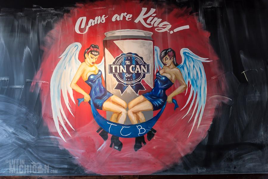 Tin Can Bar in Grand Rapids