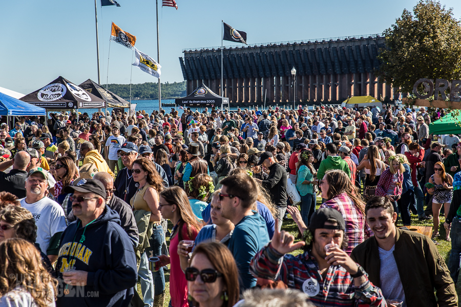 The 2015 Michigan UP Fall Beer Festival