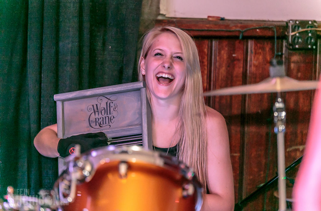 Wolf and the Crane debut at the Cadieux Cafe